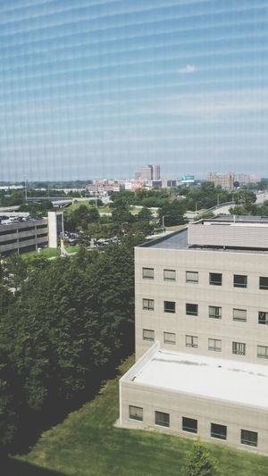 Officially checked into the dorm and here's the view from my room. Detailsofmylife