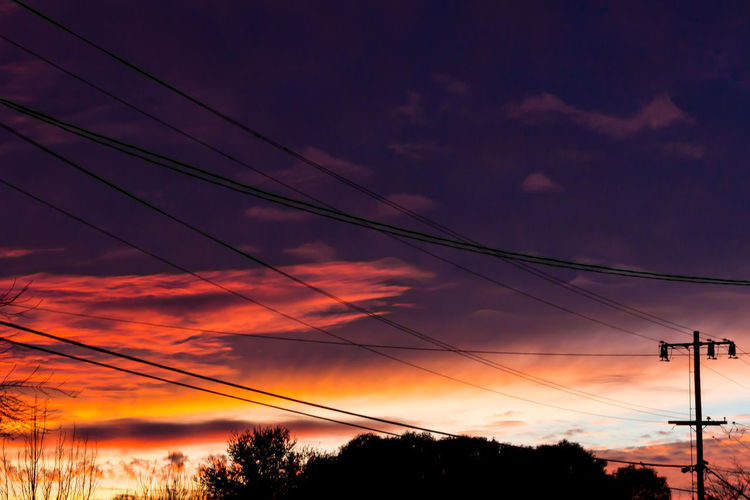Electric Atmosphere Golden Hour Santarosa Amateurphotography DSLR Photography Canonfavpic Photo Photographer Electricity  Sunset Power Line  Silhouette Dramatic Sky No People Tree Outdoors Cloud - Sky Sky
