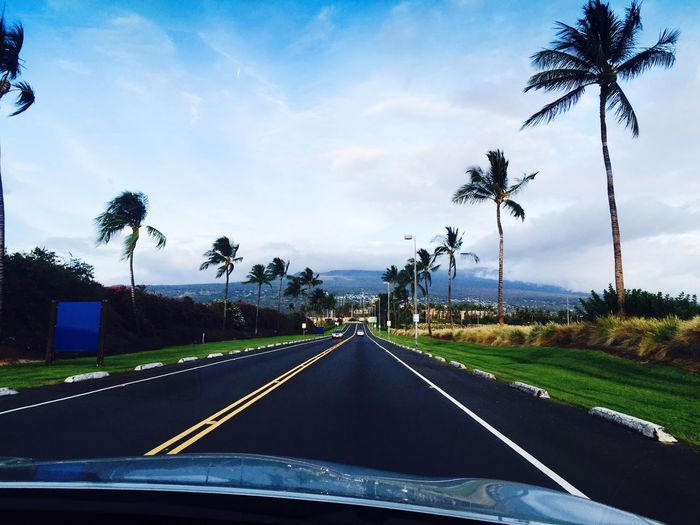 Hawaii Taking Photos Road Enjoying Life Eye4photography  From My Car View Nature I love my life right now