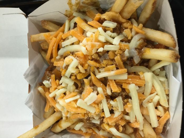 Chili cheese fries Foodspotting