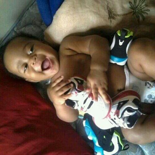 my baby a shoe fanatic ♥