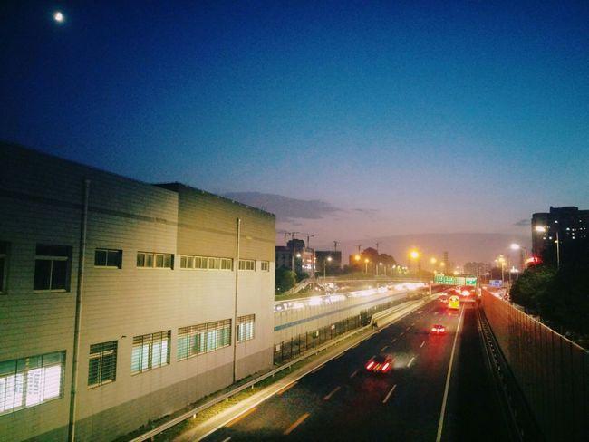 Night Street Moon