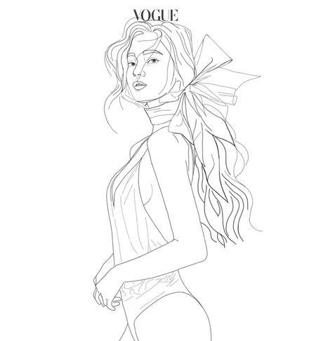 Vogue Korea 2016🎀 My drawing Art And Craft Art Illustration Vogue Fashion Fashionblogger Fashionillustration Vogue Magazine Vogue Cover Vogue Korea Sketch Sketchbook Sketching Fashion Sketches