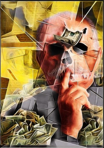 Death Of Prosperity Death Of Finance Surrealism And Fantasy Art Mind Inventory Photographic Approximation Resist Tempteation Facial Experiments Celebration Of The Ephemerality Of Life Cut And Paste Cut And Paste