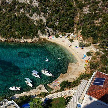 Programme chargé Mer Méditerranée Plage Croatia Turquoise Crique