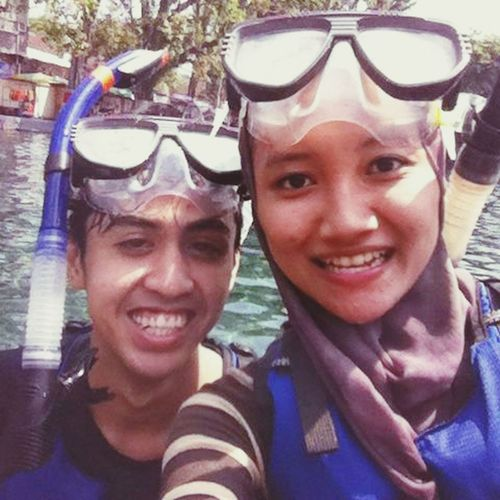 Snorkling at Umbul Ponggok Hanging Out Enjoying Life