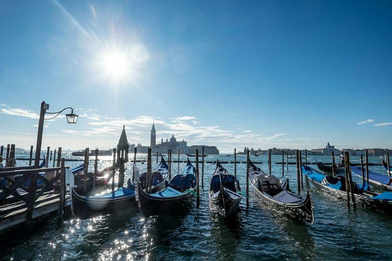 The Traveler - 2015 EyeEm Awards Venice Gondola Beautiful Serenity