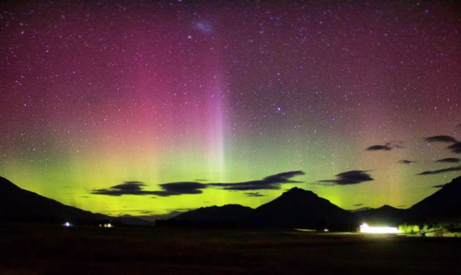 Southern lights - aurora Australis Southern Lights Aurora Australis Scenics Night Beauty In Nature Tranquil Scene Nature Tranquility Star - Space Galaxy Astronomy Mountain Sky