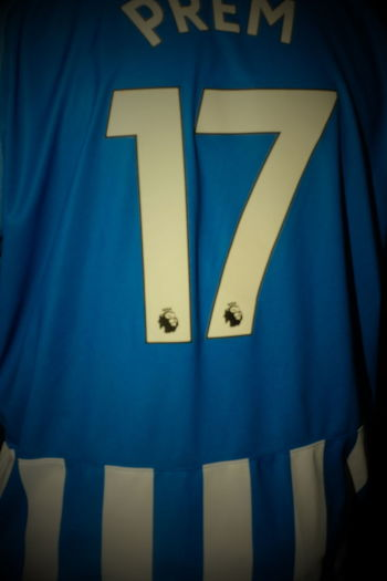 Bhfc Blue Brighton Top Close-up Day Football Shirt Football Shirts Indoors  No People