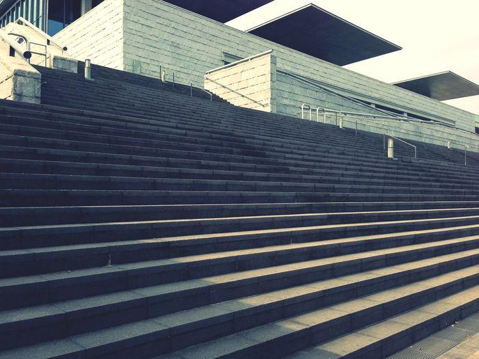 Architecture Staircase Vertigo