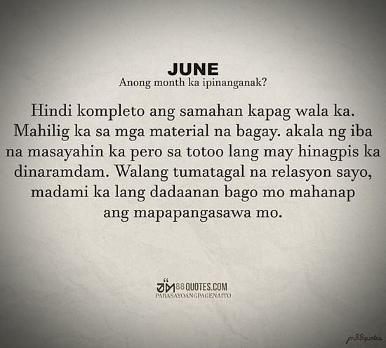 Are You June Like Me? WeLL If n0t StaY AwaY FroM Me!!