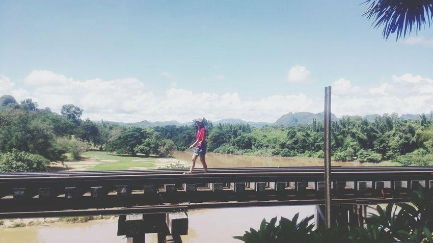 walk along Railway Track