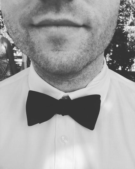 Bow tie wedding.