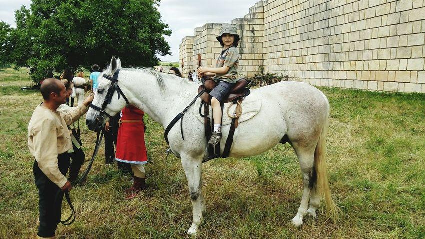 Принцът на бял кон.