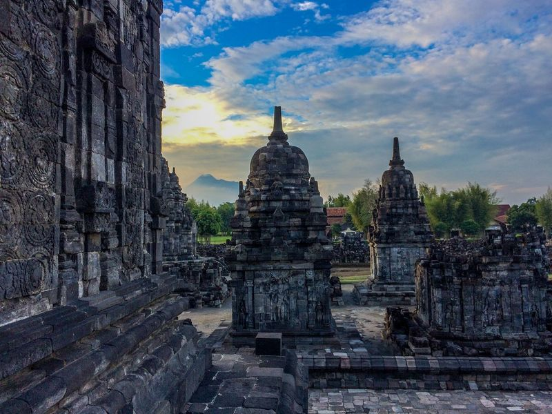 Ancient Ancient Civilization Architecture Building Exterior Built Structure Cloud - Sky Day History No People Old Ruin Outdoors Place Of Worship Religion Sky Spirituality Statue Travel Destinations