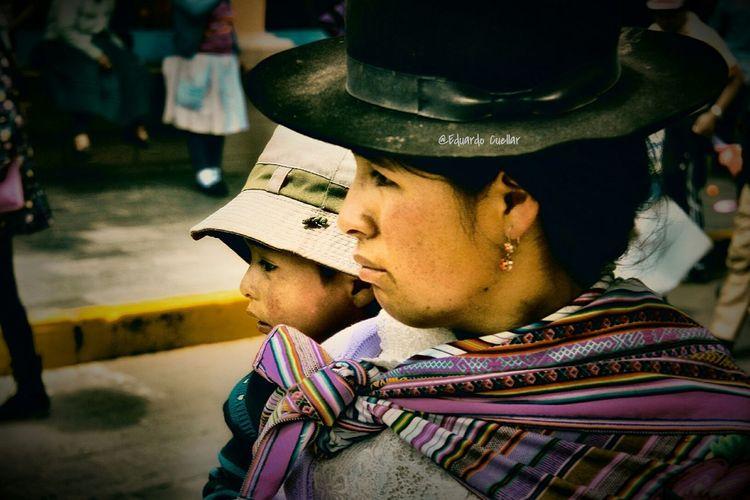 Nurture Portrait Close-up Women Portrait Holy Week Ayacucho Perú Holyweek2017 Outdoors Blackandwhite Photography