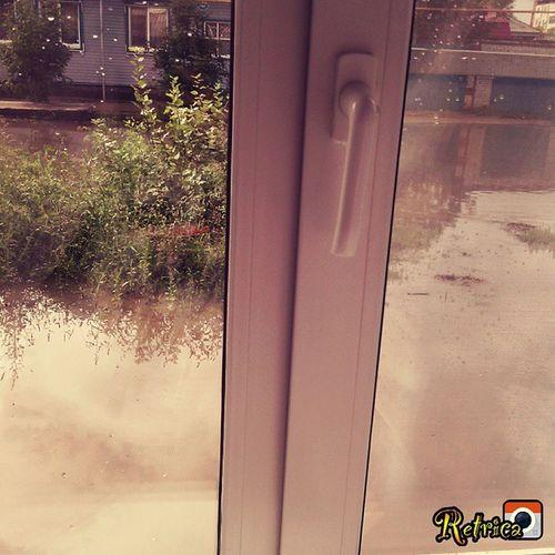Дождь прошёл))))