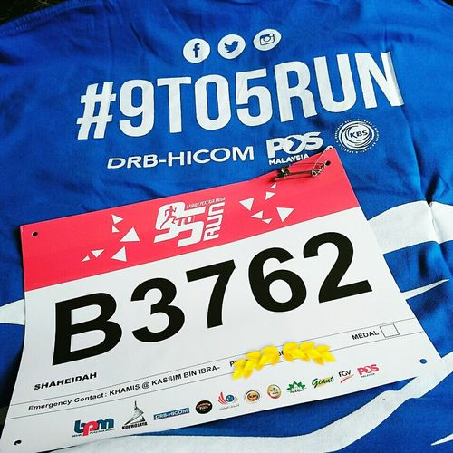 9to5Run 10km Putrajaya EatPrayRun Runwithyourheart Iamthefatrunner Running Run My Next Run