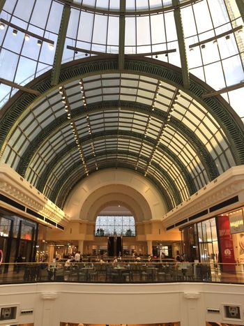 Emirates Mall Indoors  Architecture Built Structure Taking Photos Dubai City Shaikh Zayed Road