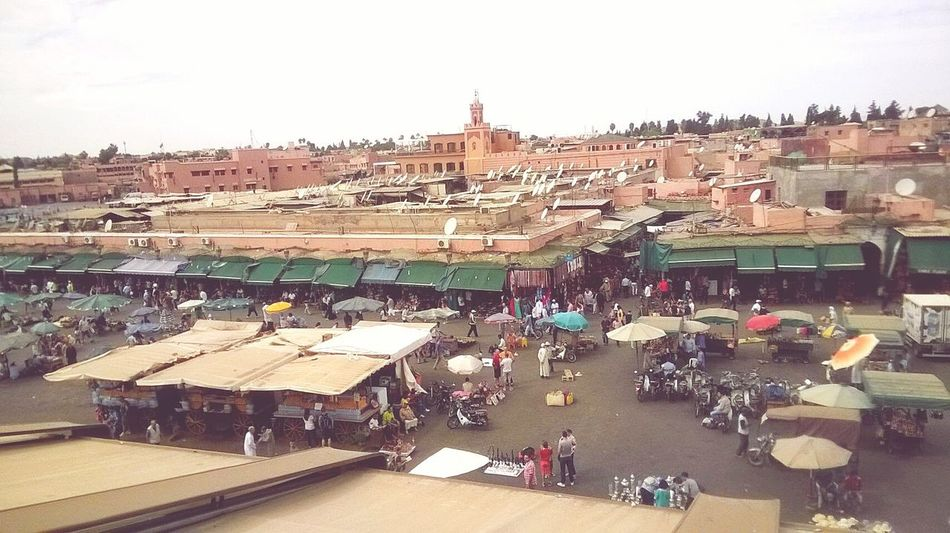 Africa Marrakesh Marocco African Beauty Marketplace Market Outdoors People Colours Beautiful Place Travel Traveller Top View Meet The World  Cityscape Flying High
