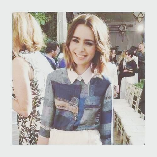 little angel. My Idol Lily Collins