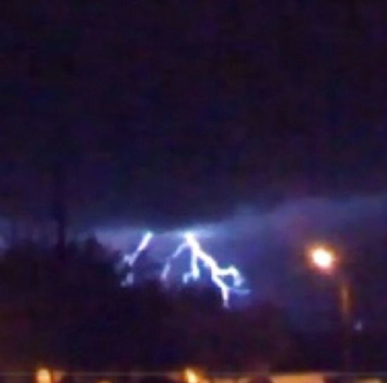 Monsoon Season  Lightning Storms arizona