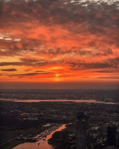 The Great Outdoors With Adobe Hello World Freedom Tower New York City Sunset Top Perspective Topoftheworld
