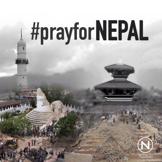 Praying PrayforNepal