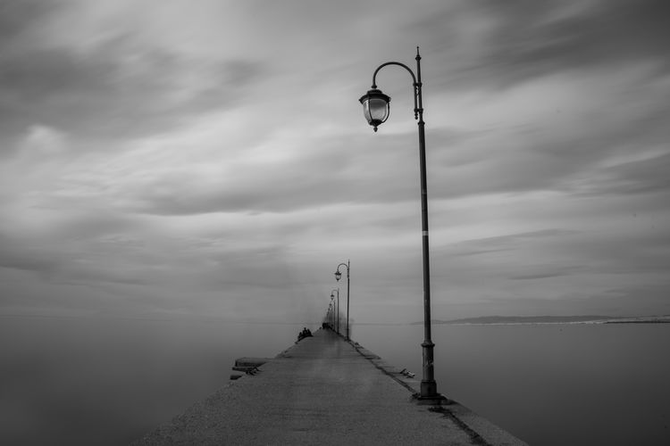Greece GREECE ♥♥ Greece Photos Photography Photography Themes Photooftheday Picoftheday Bestoftheday Sell Thessaloniki Thessaloniki Greece Bw Bw_collection BW_photography Sky Long Exposure Beauty In Nature The Way Forward Tranquil Scene Street Nature Cloud - Sky Street Light Sea Tranquility