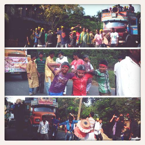 Vijoya Dashami. Celebration. Durgapuja Streetphotography Assam Travel