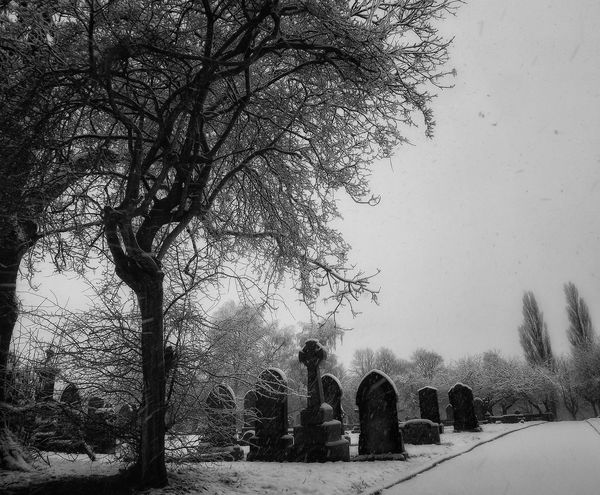 Taken today on a very snowy day in Manchester Eternal Peace EyeEm Best Edits Masterclass Hdr Photography EyeEm Best Shots Hdr_Collection Fujifilm EyeEm HDR Showcase March Peace And Quiet Bnw_life Phototgraphy Black And White Collection  Black And White Photography Bnw Photography Black And White No Edit/no Filter Monochrome Creative Light And Shadow Shades Of Grey Black And White Photography Monocrome Cemetery Photography Cemetery_shots Snow ❄ EyeEm Snow Shots Bnw_friday_eyeemchallenge Black And White Portrait