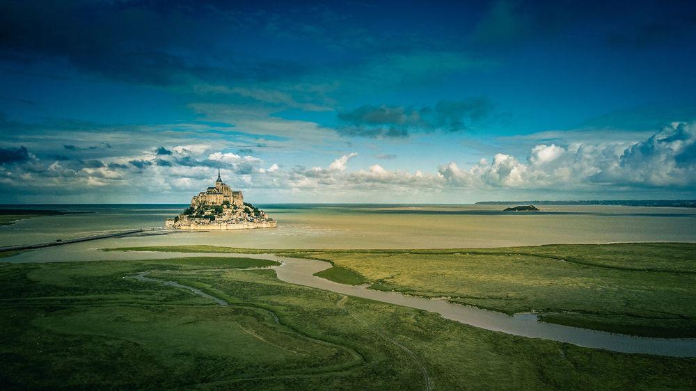 The mystical Mont Saint Michel Outdoors Water Nature Mont Saint-Michel Normandy France🇫🇷
