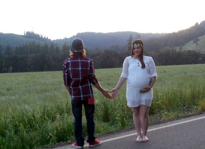 Vintage Photo My Sister Wish Family Love People Maternityshoot  Oregon Hello World Happy People