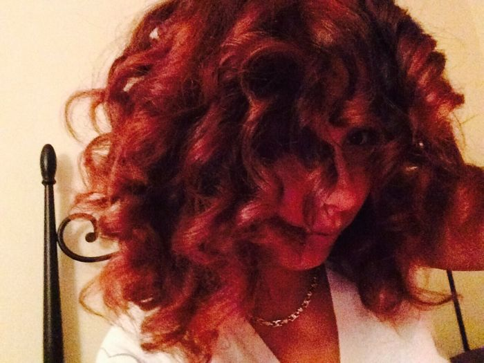 Red Hair Curlspoppin