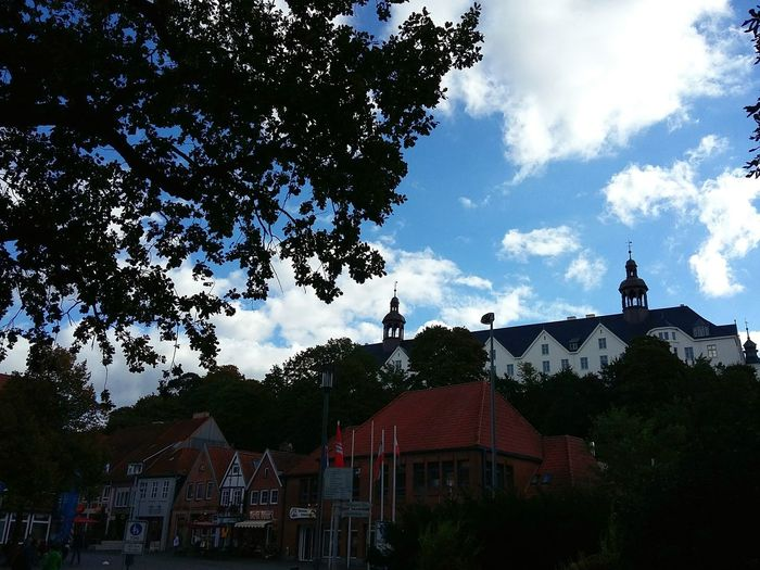 Somewhere in Plön. · Germany Schleswig-Holstein Cityscape Small Town Day Trip Architecture Framed By Trees Beautiful Day