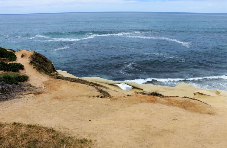 Beach Photography Been There. Daytime La Jolla Beach La Jolla, California Nature San Diego Sunny Beach Beauty In Nature Been There, Done That Day La Jolla Nature No People Ocean Outdoors Sand Scenics Sea Sky Tranquil Scene Tranquility Water Waves