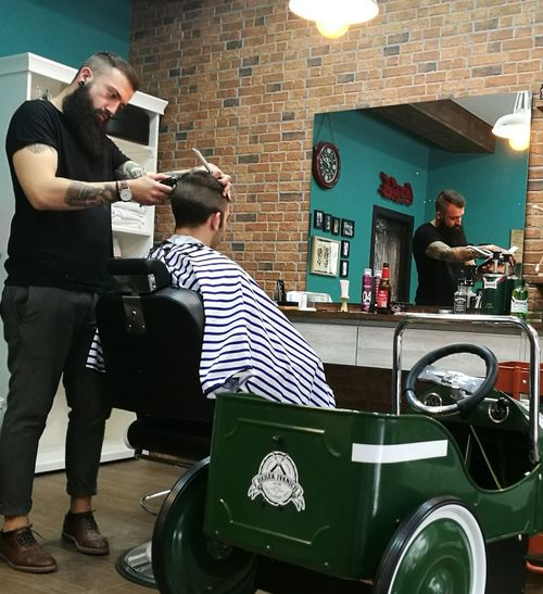 Retro Styled Barber Barberstyle Barbershop Fashion Huawei P9 Photos