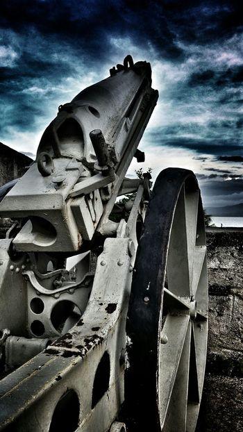 An old gun. Remnants Of History Remnants Eyeem Philippines Fortress War Remnants Museum Eyeem Market