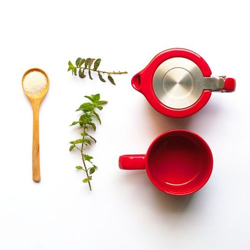 There's nothing better than starting the day with an all-natural peppermint tea | Morningtea Goodmorning