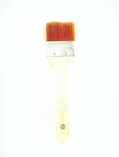 orange brush Orange Paint Brush Brushes Brushwood White Background Close-up Paint Roller Brush DIY Renovation Home Improvement Color Swatch Drawing Paintbrush Watercolor Paints Paint Home Addition Oil Paint