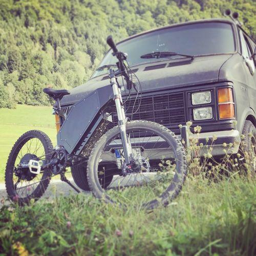E-Power Mountainbike - ready to ride Mountainbike Ride Electric Bike Power Vehicle Car Bicycle Iphonephotography Instagramer