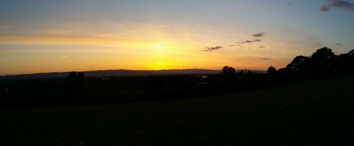Vancouver Washington Sunset Evening Hanging Out Enjoying Life Photography Taking Photos Sky And Clouds Awesome_shots Panoramic Sitting Outside