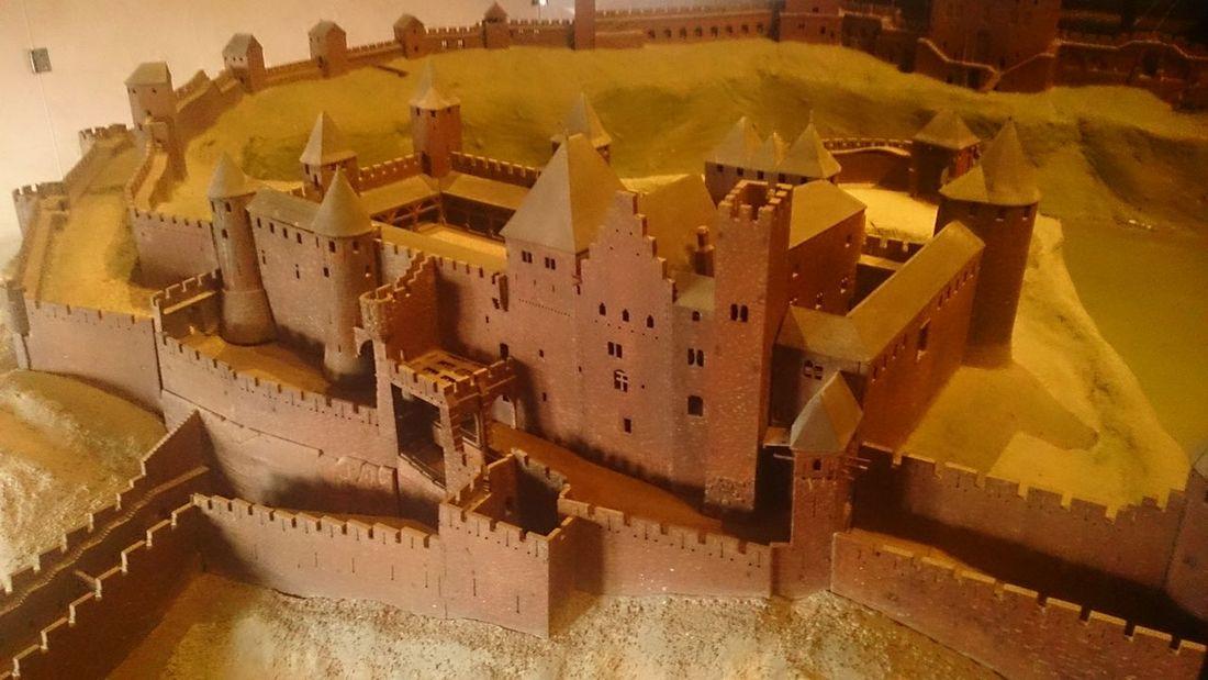 Una Maqueta del Castillo de Carcassone