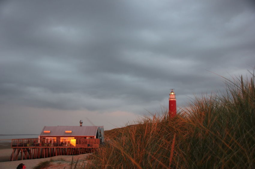 Beach Business Finance And Industry Cloud - Sky Dune Dunes Dünen Leuchtturm Leuchtturmtraum Leuchttürme Lighthouse Nature Night No People Outdoors Pal Sky Storm Storm Cloud Texel  Texel Island Texelpics Texelstrand Thunderstorm Vuurtoren