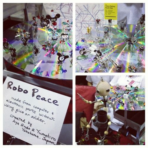 Super-cute Popuptokyo and Robopeace at Hyperjapan