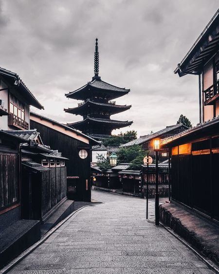 My Kyoto Adventure (3/3) The Week on EyeEm Architecture_collection Eyeemphotography EyeEm Best Edits EyeEmBestPics EyeEm Selects EyeEm Gallery EyeEm Best Shots Kyoto Building Exterior Architecture Building Exterior Sky Cloud - Sky Travel Destinations Spirituality No People Day Outdoors City