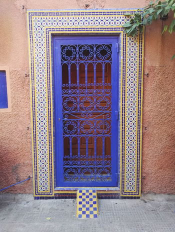 Pattern No People Architecture Mosaic Color Marrakech Marrocco