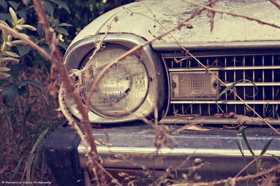 Abandoned Bad Condition Broken Canon Car Damaged Lightroom Mode Of Transport Mvphotography Old Transportation Vintage