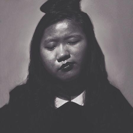 Portrait Noir Et Blanc Monochrome Canon5dmk2
