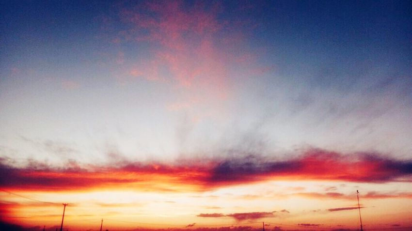 Закат Закат солнце фон Sunset Cloud - Sky Sky Beauty In Nature Scenics Nature Dramatic Sky